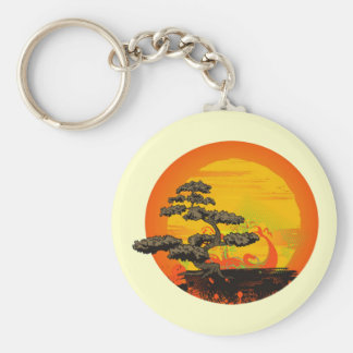 Bonsai Tree Keychain