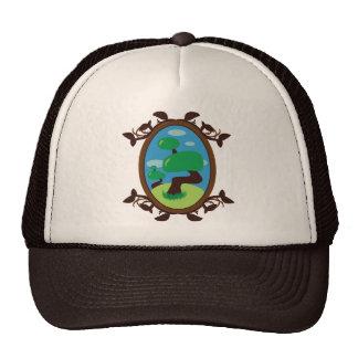 Bonsai Tree Mesh Hat
