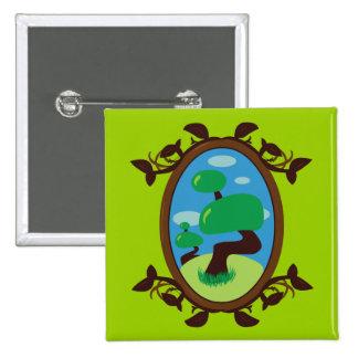 Bonsai Tree Pinback Button