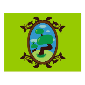 Bonsai Tree Post Card