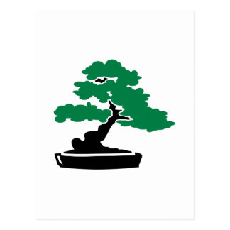 Bonsai tree postcards
