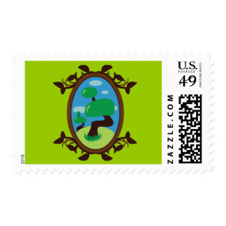Bonsai Tree Stamp