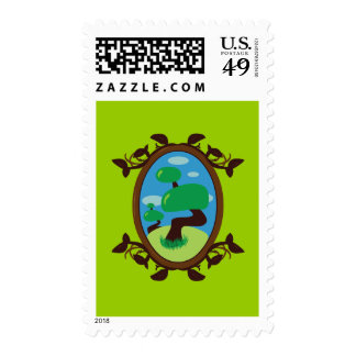 Bonsai Tree Stamps