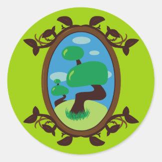 Bonsai Tree Sticker