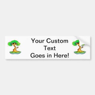 bonsai tree with shari graphic.png bumper sticker