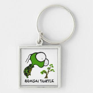 Bonsai Turtle Keychain