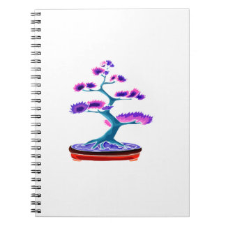 bonsai upright tree graphic blue.png notebook
