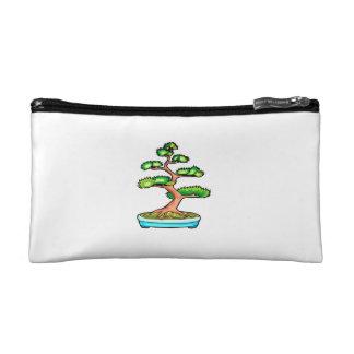 bonsai upright tree graphic green.png makeup bag