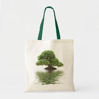 Bonsais del Ficus Bolsas Lienzo