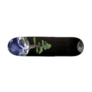 Bonsais en la tierra Skatebord Monopatin Personalizado