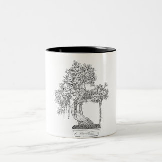 BonsaiSway-01 Two-Tone Coffee Mug
