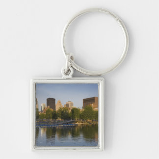 Bonsecours Basin In The Old Port Of Old Montreal Keychains