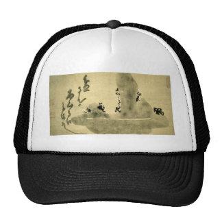 Bonseki by Hakuin Ekaku Trucker Hat