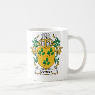 Bonser Family Crest Coffee Mug