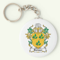 Bonser Family Crest Keychain