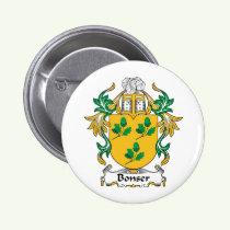 Bonser Family Crest Button