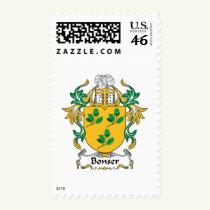 Bonser Family Crest Stamps