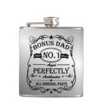 Bonus Dad Father's Day Flask