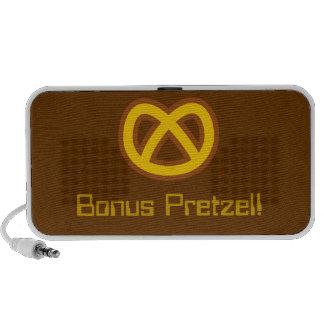 Bonus Pretzel Notebook Speakers