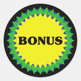 BONUS Retail Sale Sticker