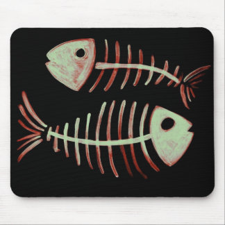 Bony Fish II Mouse Pad
