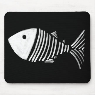 Bony Fish Mouse Pad