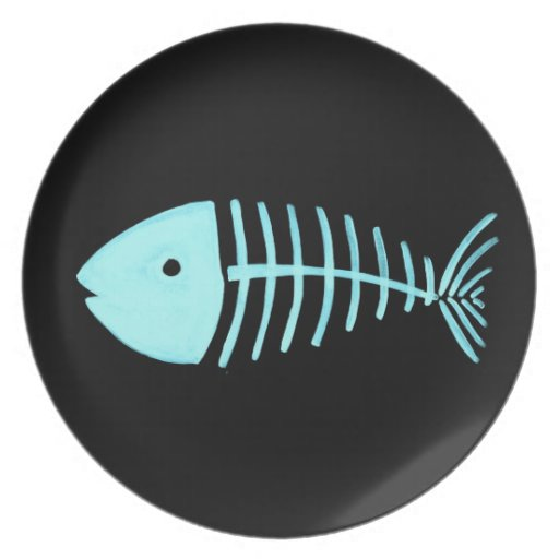 Bony Fish Plate