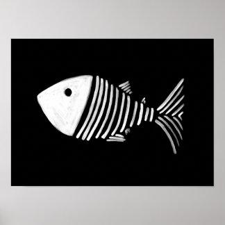 Bony Fish Poster