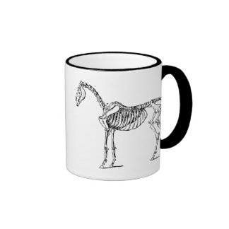 Bony Horse Ringer Coffee Mug