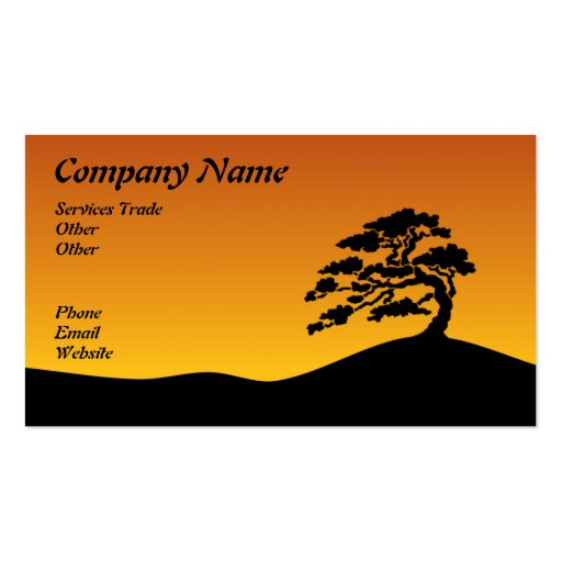Bonzai Business card