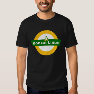 BONZAI LINUX TUX PENGUIN T-SHIRTS