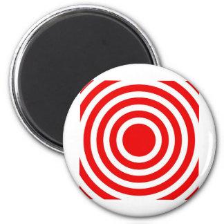 bonzai red circles magnet