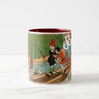 Bonzai! Two-Tone Coffee Mug