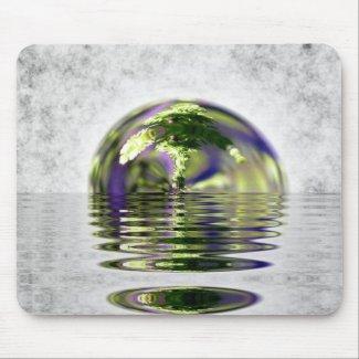 Bonzi Globe Mouse Pad