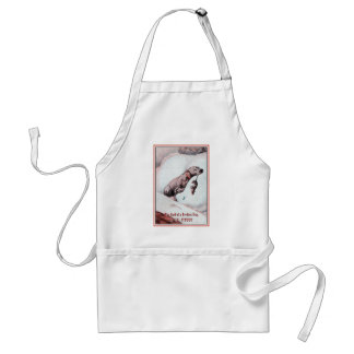 """""""Bonzo the Dog"""" in """"End of Day"""" Apron"""