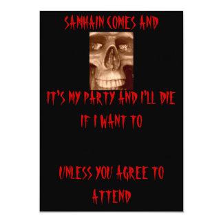 boo 008, IT'S MY PARTY AND I'LL DIE IF I WANT T... Card