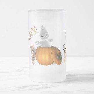 Boo-1-zmug Frosted Glass Beer Mug