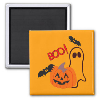 BOO! - 2 INCH SQUARE MAGNET