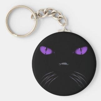 Boo - Amethyst Keychain