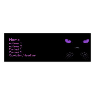 Boo - Amethyst Profile Card Double-Sided Mini Business Cards (Pack Of 20)