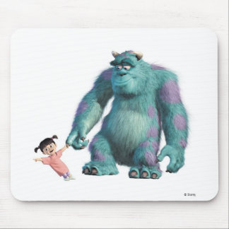 Boo and Sulley Disney Mouse Pad