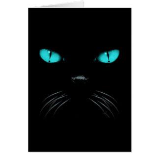 Boo - Aquamarine Greeting Card