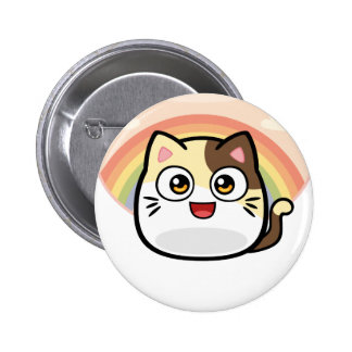 Boo as Cat Design Products Button