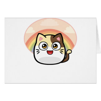 Boo as Cat Design Products Card