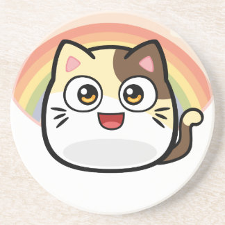 Boo as Cat Design Products Coaster