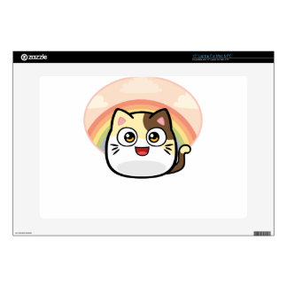 Boo as Cat Design Products Laptop Decal