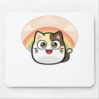 Boo as Cat Design Products Mouse Pad