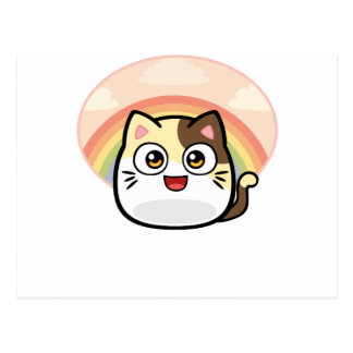 Boo as Cat Design Products Postcard