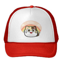 Boo as Cat Design Products Trucker Hat