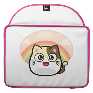 Boo as Cat Macbook Sleeve 15 inch